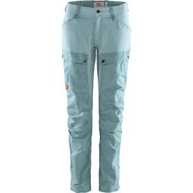 Fjällräven Keb Pantalon Femme, clay blue/mineral blue